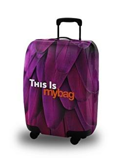 My Bag My Bag Unisex Mor Seyahat Aksesuarı Akıllı Valiz Kılıfı